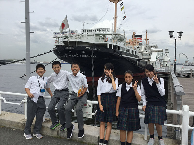 First-year society tour (Yokohama)